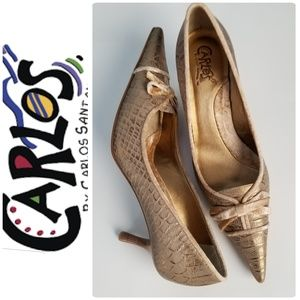 CARLOS S. Medium Heel Shoe